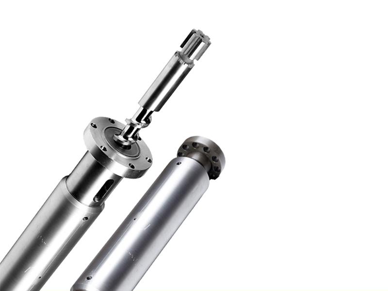 cool feeding/hot feeding screw and barrel Rubber Machine Screw Barrel