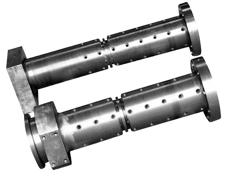 Barril de tornillo de máquina de caucho en espiral